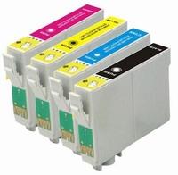 Inkmaster Multipackvoor Epson 18XL BK/C/M/YGeel 66ml 4pack