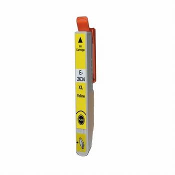 Inkmaster inktcartridge voor Epson 26XL geel 12,50ml
