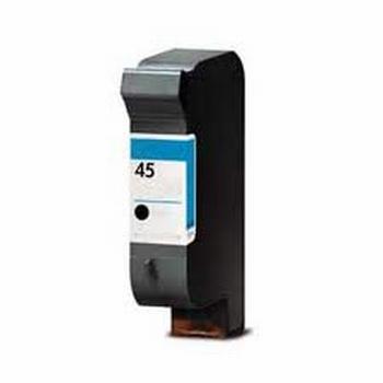HP Inkt cartridge 45 (51645A) zwart (huismerk)  53