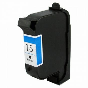 HP Inkt cartridge 15 (C6615D) zwart (huismerk)