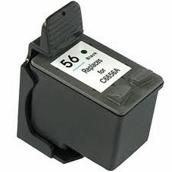 HP Inkt cartridge 56 (C6656A) zwart (huismerk)