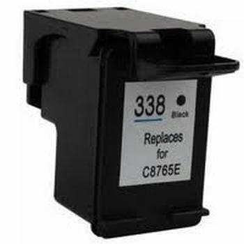 HP Inkt cartridge 338 (C8765E) zwart (huismerk) 17 ml