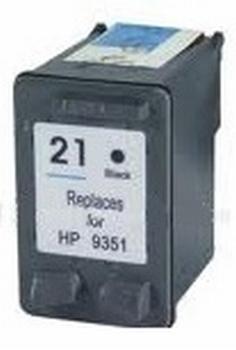 HP Inkt cartridge 21XL (C9351A) zwart (huismerk) 21ml