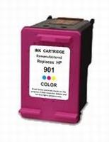 HP Inkt cartridge 901 XL (CC656AE) kleur (huismerk) 20ml