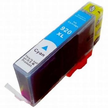 HP Inkt cartridge 920 XL (CD972A) cyaan (huismerk) 15ml