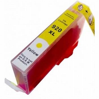 HP Inkt cartridge 920 XL (CD974A) geel (huismerk) 15ml