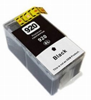 HP Inkt cartridge 920 XL (CD975A) zwart (huismerk) 55ml