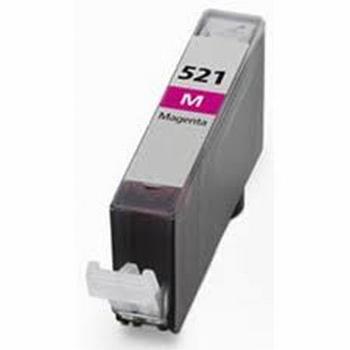 Canon Inkt cartridge CLI-521M magenta met chip 11ml