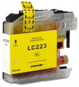 Brother cartridge LC-223Y XL 10 ml Geel (huismerk)