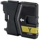 Brother Inkt cartridge LC-985Y geel (huismerk)