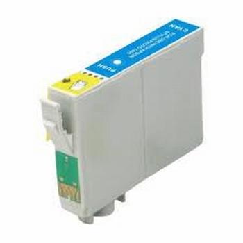 Epson Inkt cartridge T0712 (T071240) cyaan (huismerk) 15ml  10