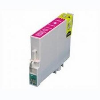 Epson Inkt cartridge T0713 (T071340) magenta (huismerk) 15ml