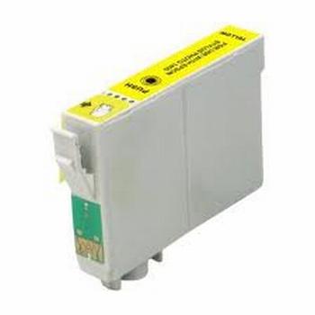 Epson Inkt cartridge T0714 (T071440) geel (huismerk)  10