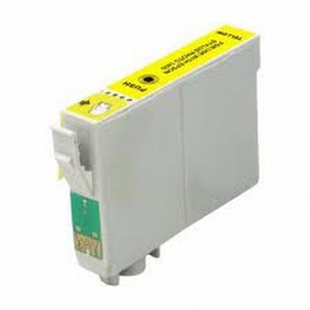 Epson Inkt cartridge T0714 (T071440) geel (huismerk)