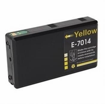 Inkmaster cartridge voor Epson T7014 Y Geel 45 ml