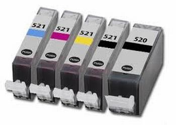 Canon inkt PGI-520-CLI-521 multipack set van 10 cartridges
