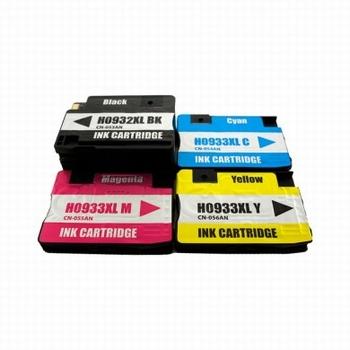HP 932XL/933XL C/M/Y/K 4-PACK 80ml  30ml