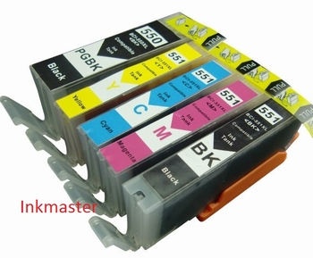 CANON PGI-550BK en  CLI-551 MULTIPACK 77ml inkt   XL 66ml