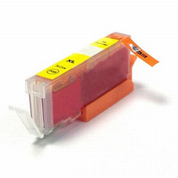 Canon CLI-571XL Y  inktcartridge  Geel/Yellow Huismerk 14ml
