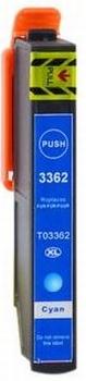 Epson 33XL C (T3362) Cyaan inktcartridge  hoge capaciteit
