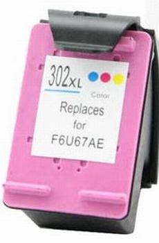 HP inkt cartridge 302 XL kleur 18ml (huismerk)