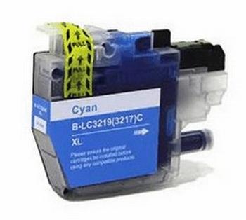 Inkmaster intk voor Brother LC-3219 XL Cyaan 20 ml