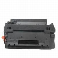 HP Toner cartridge CE255X zwart hoge capaciteit (huismerk)