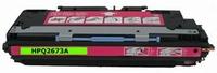 HP Toner cartridge 73A (Q2673A) magenta (huismerk)