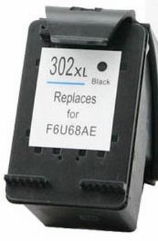 HP inkt cartridge 302BK XL 18ml (huismerk)