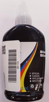Losse inkt zwart 100ml