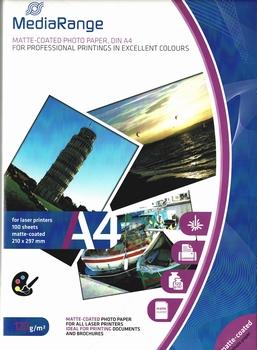MediaRange A4 wit 120gram 100 pagina's