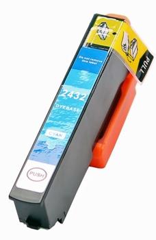 inkt voor Epson T2432XL  hoge capaciteit Cyaan 15 ml