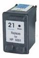HP Inkt cartridge 21XL (C9351A) zwart (huismerk) 23ml