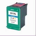 HP Inkt cartridge 351 XL (CB338E) kleur (huismerk) 18 ml