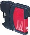 Brother Inkt cartridge LC-1100/980M magenta (huismerk)