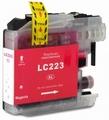 Brother cartridge LC-223M XL 10 ml Magenta (huismerk)