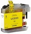 Brother cartridge LC-223Y XL 10 ml Geel (huismerk)