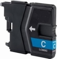 Brother Inkt cartridge LC-985C cyaan (huismerk) 12