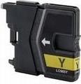 Brother Inkt cartridge LC-985Y geel (huismerk) 12