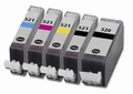 Canon inkt PGI-520-CLI-521 multipack set van 5 cartridges