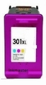 HP inkt cartridge 301XL kleur(CH564EE) inhoud 20 ml