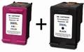 HP inkt cartridge 300 XL kleur en zwart (huismerk) 2x 20ml