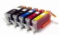 Canon PGI-570PGBK ,  CLI-571 aanbieding: 2 zwart + 3 kleuren