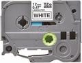 Tape voor Brother TZE-231 12mm zwart op wit 8 meter